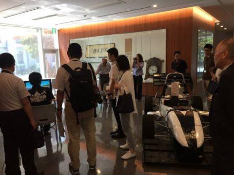 学生フォーミュラ九州支部 記者発表報告